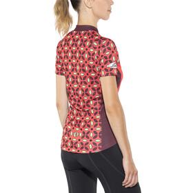 PEARL iZUMi MTB LTD Short Sleeve Jersey Women flower pattern cayenne/ port
